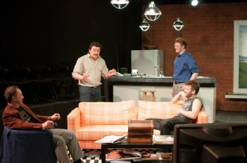 Me, left, Kirk, Deven and Brandon (on couch). I liked this set.