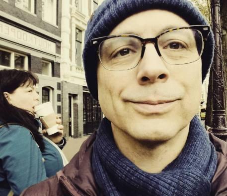 amsterdam selfie