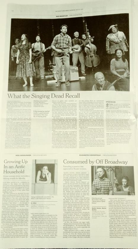 MDMD NYT print page